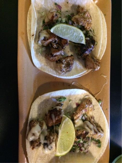 Criollo Marinated Chicken Tacos