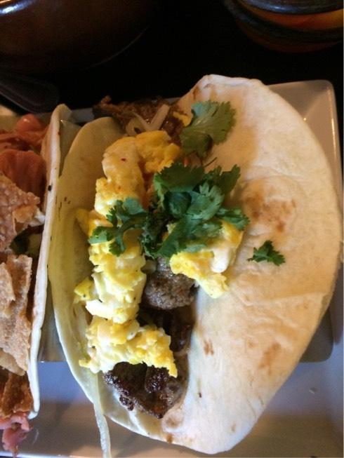 Flank Steak Banh Mi Tacos