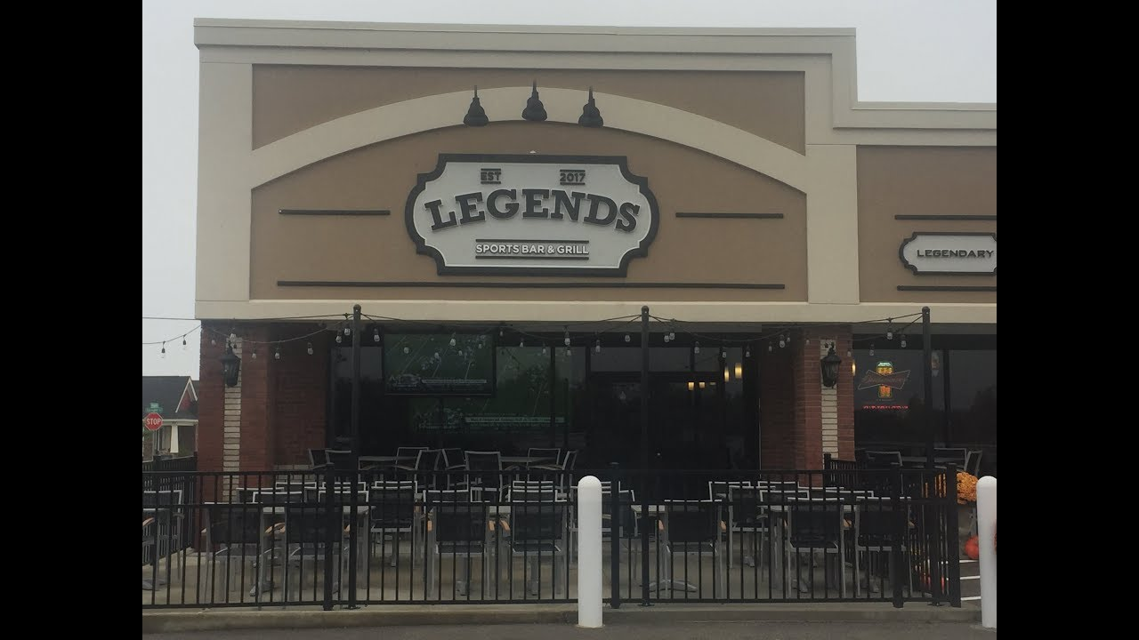 Legends Bar and Grill restaurant located in CHAMPAIGN, IL