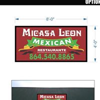Mi Casa Leon restaurant located in ANDERSON, SC
