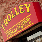 Trolley Steaks and Seafood restaurant located in FORT WAYNE, IN