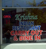 Krishna Carry Out restaurant located in OXFORD, OH