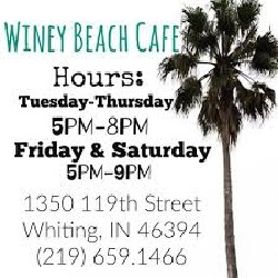 Winey Beach Cafe restaurant located in WHITING, IN