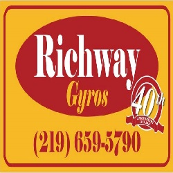 Richway Gyros restaurant located in WHITING, IN