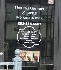 Oriental Gourmet Express restaurant located in NASSAU BAY, TX