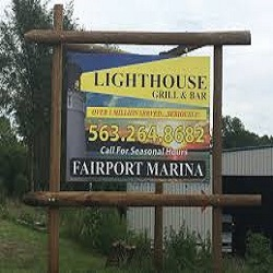 The Lighthouse Restaurant restaurant located in MUSCATINE, IA