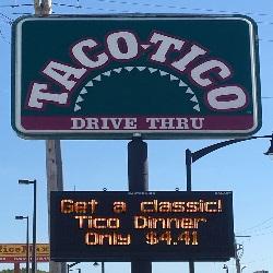 Taco Tico restaurant located in FORT DODGE, IA