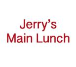 Jerry's Main Lunch restaurant located in BURLINGTON, IA