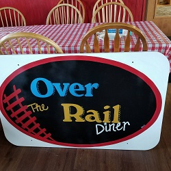 Over the Rail Diner restaurant located in DENNISON, OH
