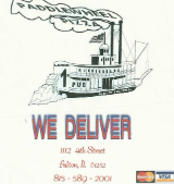 Paddle Wheel Pizza and Pub restaurant located in FULTON, IL