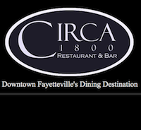 Circa 1800 restaurant located in FAYETTEVILLE, NC