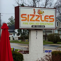 Sizzles restaurant located in LOCKPORT, IL