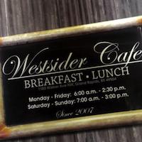 Westsider Cafe restaurant located in GRAND RAPIDS, MI