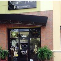 Siam Thai restaurant located in TAMPA, FL