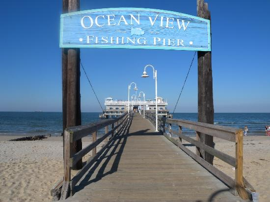 Ocean View Fishing Pier restaurant located in NORFOLK, VA