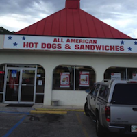 All American Hot Dog & Sandwiches restaurant located in JACKSONVILLE, FL