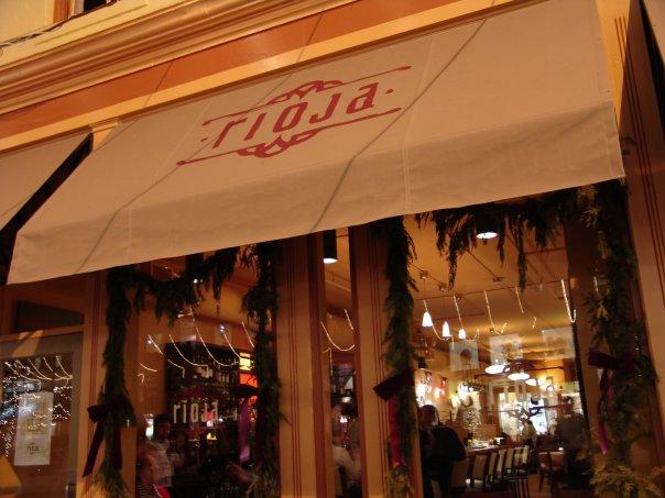 Rioja restaurant located in DENVER, CO