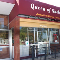 Queen of Sheba restaurant located in LOUISVILLE, KY
