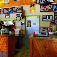 Ole Hickory Pit BBQ restaurant located in LOUISVILLE, KY