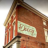 Decca restaurant located in LOUISVILLE, KY