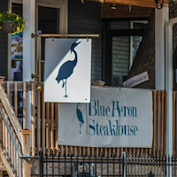 The Blue Heron Steakhouse restaurant located in LEXINGTON, KY