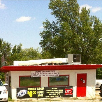 Bomber Burger restaurant located in WICHITA, KS