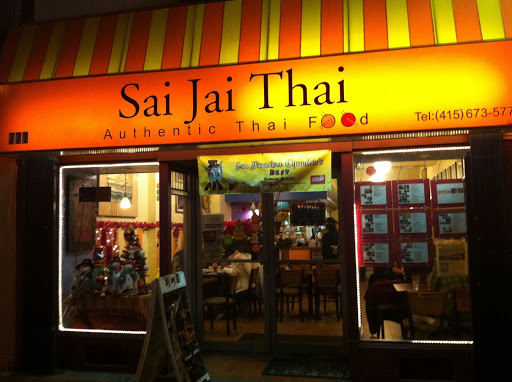 Sai Jai Thai restaurant located in SAN FRANCISCO, CA