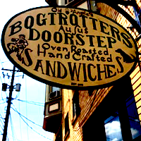 Bogtrotters Doorstep restaurant located in CLEVELAND, OH