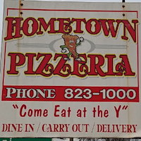 Hometown Pizzeria restaurant located in BELINGTON, WV