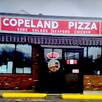 Copeland Street Sub & Pizza restaurant located in QUINCY, MA