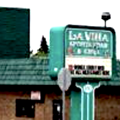 La Villa Sports Bar & Grille restaurant located in STRUTHERS, OH