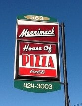 Merrimac House of Pizza restaurant located in MERRIMAC, MA