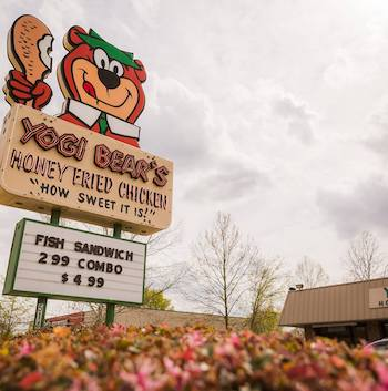 Yogi Bear Honey Fried Chicken restaurant located in HARTSVILLE, SC