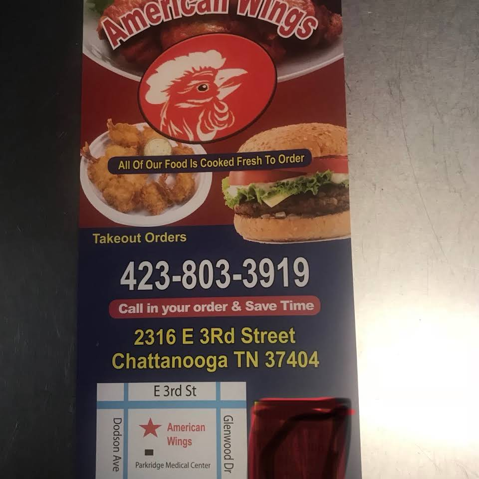 American Wings - East restaurant located in CHATTANOOGA, TN