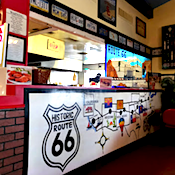 Route 66 Pizza Palace restaurant located in BARSTOW, CA