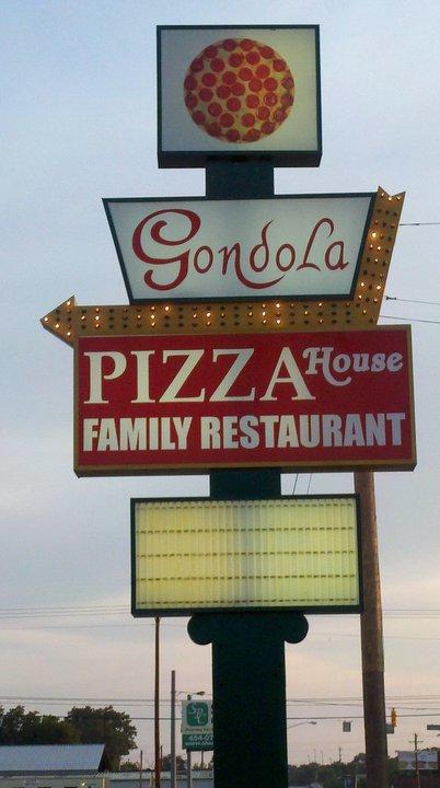 Gondola Pizza & Steak House restaurant located in TULLAHOMA, TN