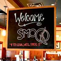 SmoQ restaurant located in CINCINNATI, OH