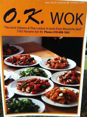 Ok Wok restaurant located in OREGON, OH