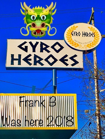 Gyro Heroes restaurant located in SEATTLE, WA