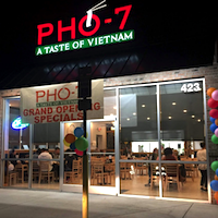 Pho 7 restaurant located in JACKSONVILLE, NC