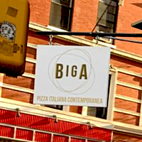 Biga Pizza Italiana Comtemporanea restaurant located in NEW YORK, NY