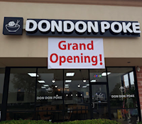 DonDonPoke restaurant located in PLANO, TX