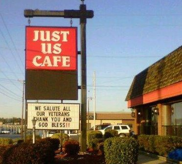 Just Us Cafe restaurant located in CAYCE, SC