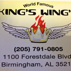 Kings Wings restaurant located in BIRMINGHAM, AL