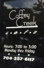 Coffey Creek Cafe restaurant located in CHARLOTTE, NC