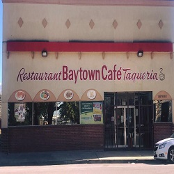 Baytown café y Taqueria restaurant located in BAYTOWN, TX