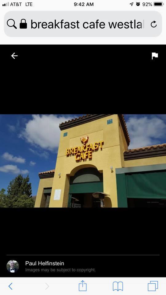 Breakfast Cafe restaurant located in OAK PARK, CA