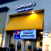 Garrison's Seafood Express restaurant located in BAKERSFIELD, CA