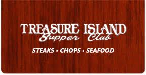 Treasure Island Supper Club restaurant located in MORAINE, OH