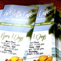 La Bella Cafe restaurant located in POMPANO BEACH, FL